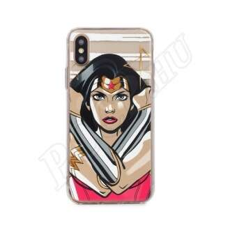 Apple iPhone Xs Wonder Woman mintás hátlap