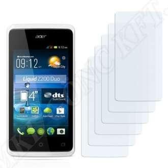 Acer Liquid Z200 kijelzővédő fólia