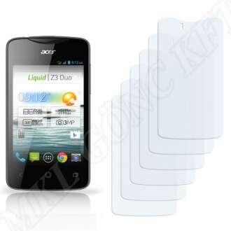 Acer Liquid Z3 Duo kijelzővédő fólia