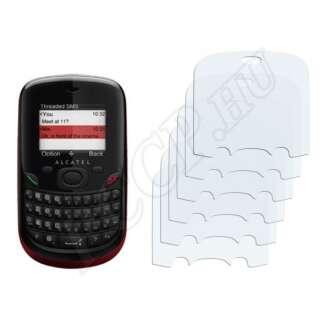 Alcatel One Touch OT-355A 2010 kijelzővédő fólia