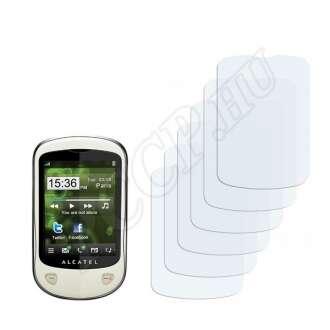 Alcatel One Touch OT-710 kijelzővédő fólia