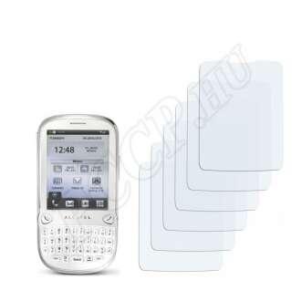 Alcatel One Touch OT-807 kijelzővédő fólia