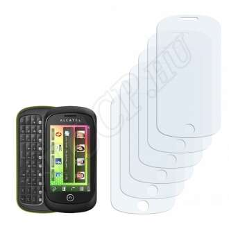 Alcatel One Touch OT-888 kijelzővédő fólia