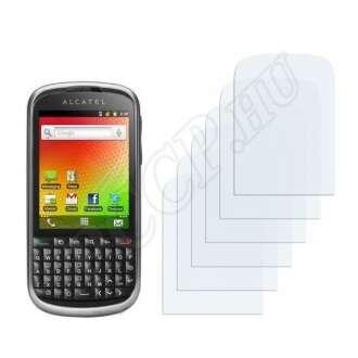 Alcatel One Touch OT-910 kijelzővédő fólia