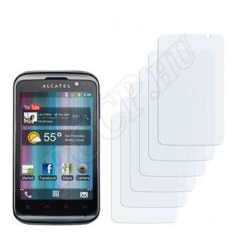 Alcatel One Touch OT-991T kijelzővédő fólia