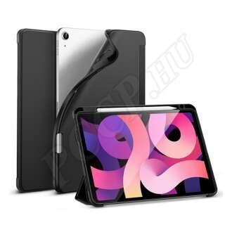 Apple iPad Air 4 (2020) fekete szilikon flip tok