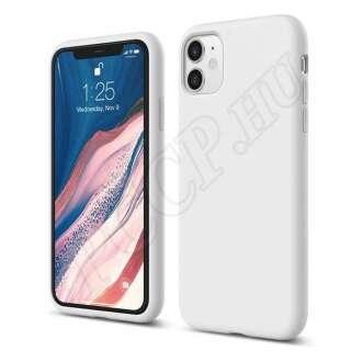 Apple iPhone 11 fehér szilikon hátlap