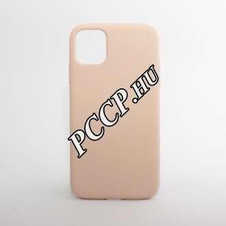 Apple Iphone 11 pink szilikon hátlap