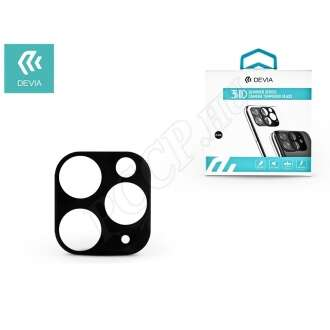 Apple Iphone 11 Pro fekete (hátsó kamera) üveg kijelzővédő fólia