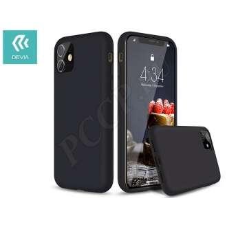 Apple Iphone 11 Pro fekete szilikon hátlap