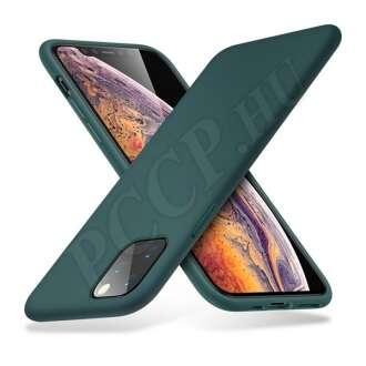 Apple iPhone 11 Pro Max éjzöld szilikon hátlap