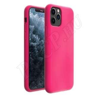 Apple iPhone 11 Pro Max rózsaszín szilikon hátlap