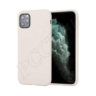 Apple iPhone 11 Pro szürke szilikon hátlap