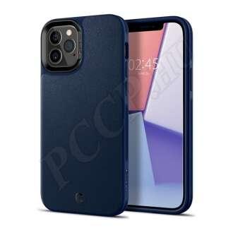 Apple iPhone 12 kék bőr hátlap