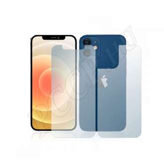 Apple iPhone 12 Mini (elő- és hátlap) kijelzővédő fólia
