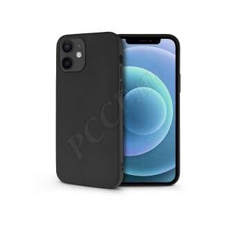 Apple Iphone 12 Minifekete szilikon hátlap
