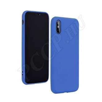 Apple iPhone 12 Mini kék szilikon hátlap