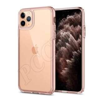 Apple iPhone 12 Mini rózsaszín átlátszó hátlap