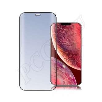 Apple iPhone 12 mini üveg kijelzővédő fólia fekete színben
