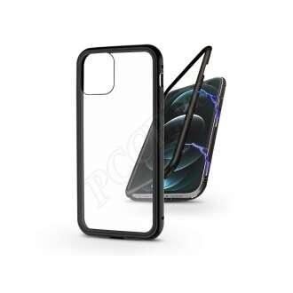 Apple Iphone 12 Pro fekete mágneses 2 részes hátlap előlapi üveg nélkül
