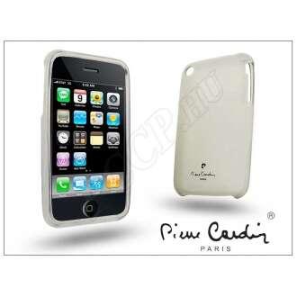 Apple Iphone 3G fehér szilikon hátlap