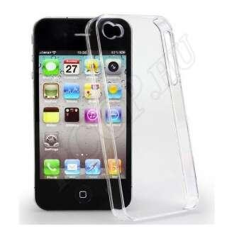 Apple iPhone 4 átlátszó ultravékony szilikon hátlap