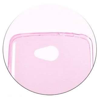 Apple iPhone 5 pink ultravékony szilikon hátlap