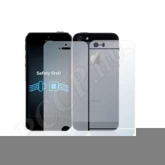 Apple iPhone 5S (elő- és hátlap) kijelzővédő fólia