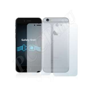 Apple iPhone 6 (elő- és hátlap) kijelzővédő fólia