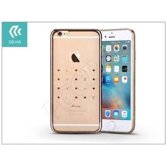 Apple Iphone 6S Plus pezsgő hátlap kristállyal