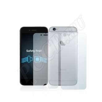 Apple iPhone 6S (elő- és hátlap) kijelzővédő fólia
