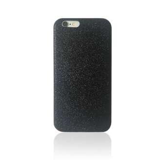 Apple iPhone 6S 'glitter Case - Black' műanyag hátlap