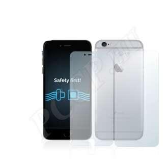 Apple iPhone 6S Plus (elő- és hátlap) kijelzővédő fólia