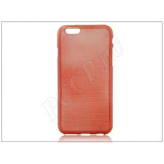 Apple Iphone 6S Plus piros szilikon hátlap