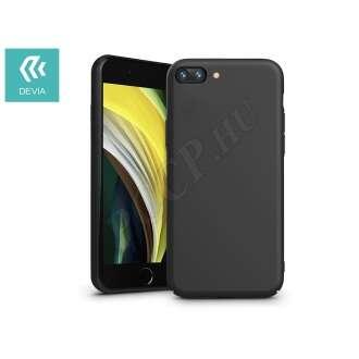 Apple Iphone 7 fekete szilikon hátlap