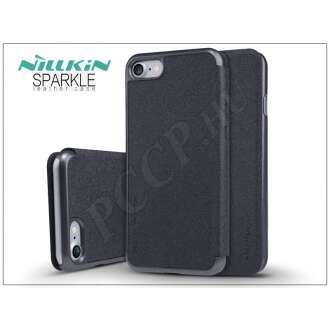 Apple Iphone 7 fekete oldalra nyíló flip tok