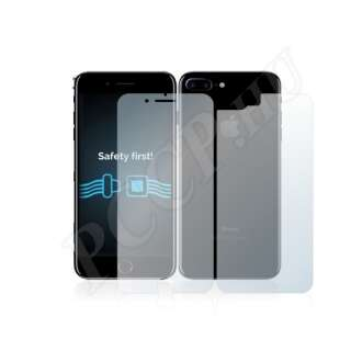 Apple iPhone 7 Plus (elő- és hátlap) kijelzővédő fólia
