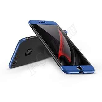 Apple Iphone 7 Plus fekete/kék három részből álló védőtok