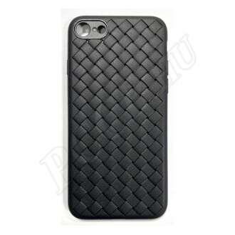 Apple iPhone 7 Plus fekete szilikon hátlap