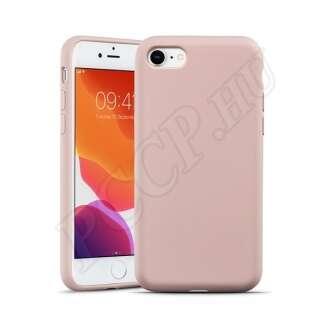 Apple iPhone 7 rózsaszín szilikon hátlap