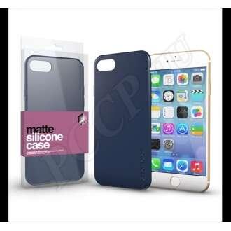 Apple iPhone 7 sötétkék ultravékony szilikon hátlap