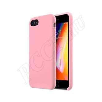 Apple iPhone 7 világos rózsaszín szilikon hátlap