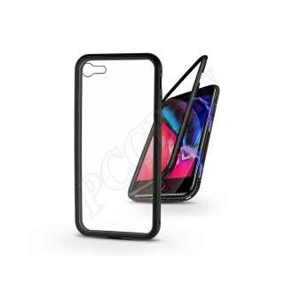 Apple Iphone 8 fekete mágneses 2 részes hátlap előlapi üveg nélkül