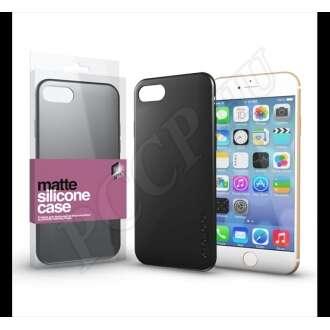 Apple iPhone 8 fekete ultravékony szilikon hátlap - Xprotector