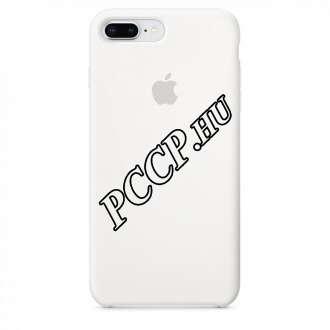 Apple Iphone 8 Plus fehér szilikon hátlap
