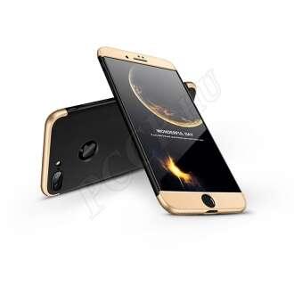 Apple Iphone 8 Plus fekete/arany három részből álló védőtok