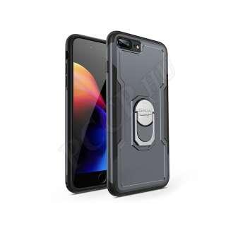 Apple Iphone 8 Plus fekete/szürke három részből álló védőtok
