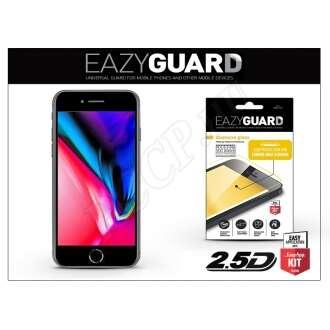 Apple Iphone 8 Plus gyémántüveg kijelzővédő fólia fekete színben