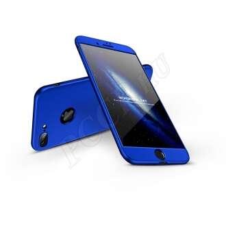 Apple Iphone 8 Plus kék három részből álló védőtok