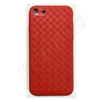 Apple iPhone 8 Plus piros szilikon hátlap